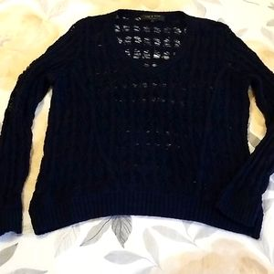 Rag and Bone wide weave sweater